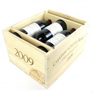 Ch. Cheval Blanc 2009 St-Emilion 1er-Grand Cru 6x75cl / Original Wooden Case