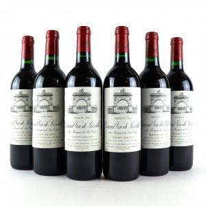 Ch. Leoville Las Cases 1993 Saint-Julien 2eme-Cru 6x75cl