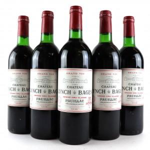 Ch. Lynch-Bages 1985 Pauillac 5eme-Cru 5x75cl