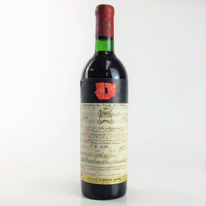Ch. Mouton-Rothschild 1972 Pauillac 1er-Cru