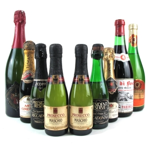 Assorted Sparkling Wines 9x75cl