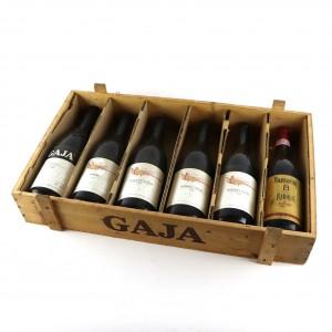 Assorted Piedmont Red Wines 6x75cl