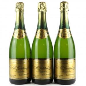 Gobillard Blanc De Blancs Brut NV Champagne 3x75cl