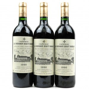 Ch. La Mission Haut Brion 1990 Graves Grand-Cru 3x75cl