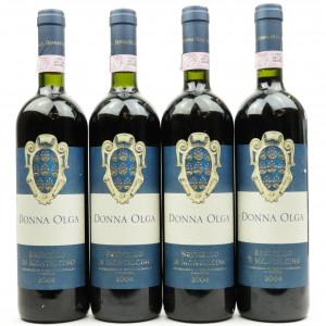Donna Olga 2004 Brunello di Montalcino 4x75cl