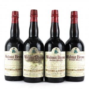 Williams & Humbert Walnut Brown Sherry 4x70cl