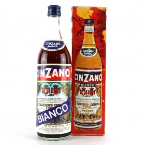 Cinzano Bianco Vermouth / Circa 1970s