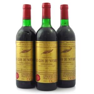Ch. Le Clos Du Notaire 1985 Bordeaux 3x75cl
