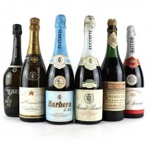 Assorted Italian Sparkling Wines / 6 Bottles