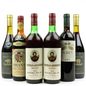 Assorted Italian Red Wines / 6 Bottles