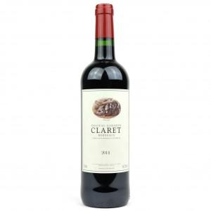 Ch. Gabaron Claret 2014 Bordeaux