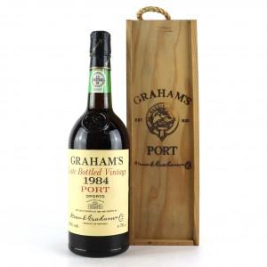 Graham's 1984 LBV Port