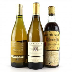 Assorted Spanish White Wines 3x75cl