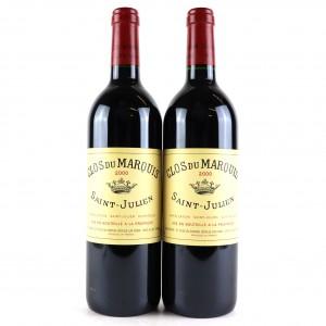 Clos Du Marquis 2000 Saint-Julien 2x75cl