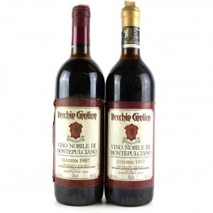 Vecchia Cantina 1987 Vino Nobile Di Montepulciano Reserva 2x75cl