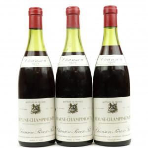 Chanson Pere & Fils Champimonts 1971 Beaune 3x75cl