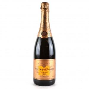 Veuve Clicquot Ponsardin Rosé 1993 Vintage Champagne