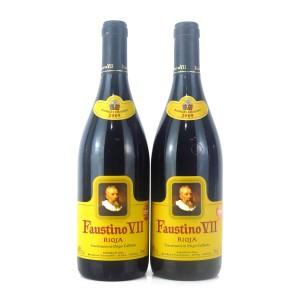 Faustino VII 2009 Rioja 2x75cl