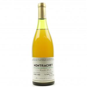 Dom. De La Romanee-Conti 1989 Montrachet Grand-Cru