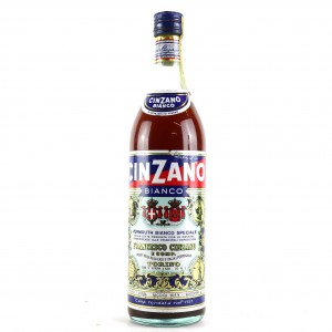 Cinzano Bianco Vermouth 1 Litre / Circa 1970s