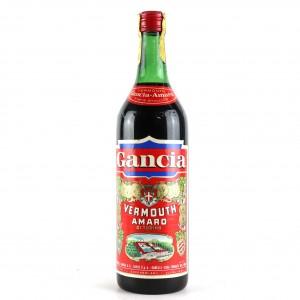Gancia Vermouth Amaro 1 Litre / Circa 1960s
