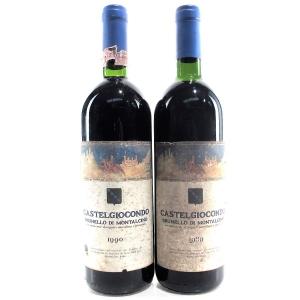 Castelgiocondo 1989 & 1990 Brunello di Montalcino 2x75cl