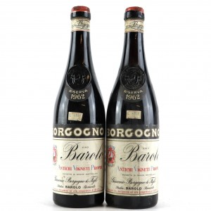 Borgogno 1962 Barolo Riserva 2x70cl