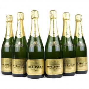 Bollinger Grande Annee 1988 Vintage Champagne 6x75cl