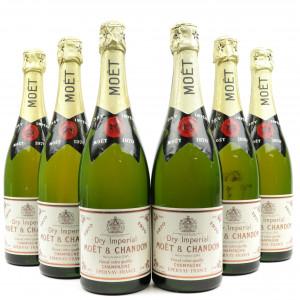 Moet & Chandon 1970 Vintage Champagne / 6 Bottles