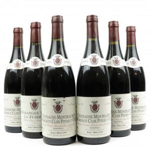 R.Belland Morgeot-Clos Pitois 1999 Chassagne-Montrachet 1er-Cru 6x75cl
