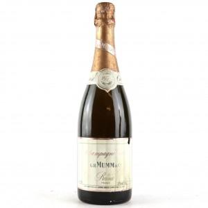 Mumm Rosé 1979 Vintage Champagne