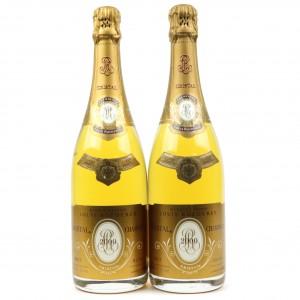 Louis Roederer Cristal 2000 Vintage Champagne 2x75cl