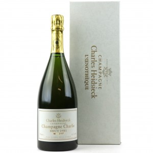 Charles Heidsieck L'Oenotheque Champagne Charlie Brut 1981 Vintage Champagne