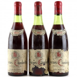 H.Richard 1970 Charmes-Chambertin Grand Cru 3x75cl
