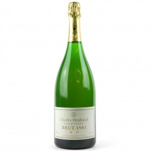 Charles Heidsieck L'Oenotheque Brut 1981 Vintage Champagne 150cl