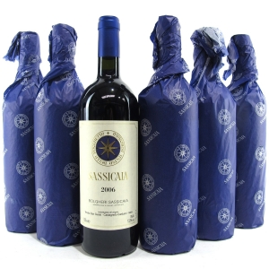 "Tenuta San Guido ""Sassicaia"" 2006 Tuscany 6x75cl"