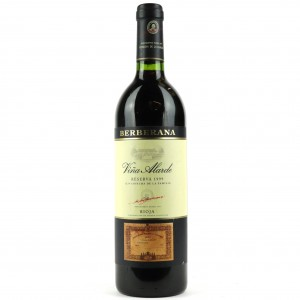 Berberana Viña Alarde 1999 Rioja Reserva