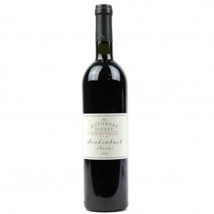 Rothbury Estate Brockenback Shiraz 1995 Hunter Valley