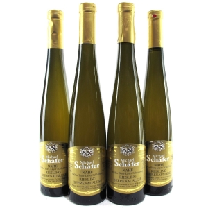 "M.Schafer ""Burg-Layer Schlossberg"" Riesling Beerenauslese 2005 Nahe 4x37.5cl"