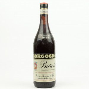 Borgogno 1978 Barolo Riserva