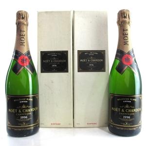 Moet & Chandon 1996 Vintage Champagne 2x75cl