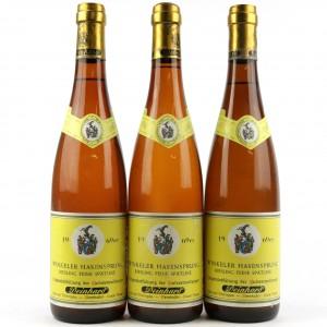 Deinhard Winkeler Hasensprung Riesling Spatlese 1969 Rheingau / 3 Bottles