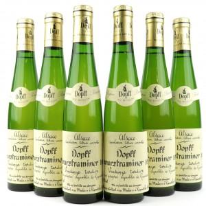 Dopff Gewurztraminer Vendanges Tardives 1989 Alsace 6x37.5cl
