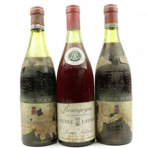 Assorted Burgundian Pinot Noir / 3 Bottles