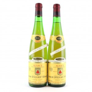 Hugel Vendange Tardive Selection-De-Grains-Noble Tokay 1976 Alsace 2x70cl