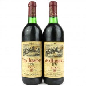 Lagunilla Vina Herminia 1978 Rioja Reserva 2x75cl