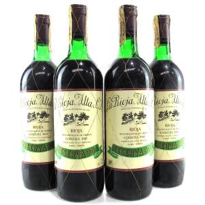 """La Rioja Alta """"904"""" 1981 Rioja Gran Reserva 4x75cl"""
