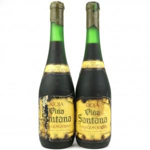 Santana Oyon 1964 Rioja Gran Reserva / 2 Bottles