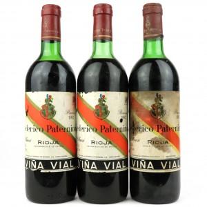 Federico Paternina 1982 Rioja Reserva 3x75cl