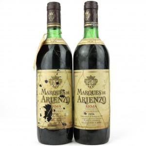 Marques De Arienzo 1976 Rioja Gran Reserva 2x75cl